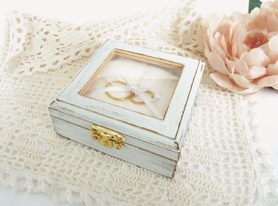 Alternative zum Ringkissen Kissen Box Vintage