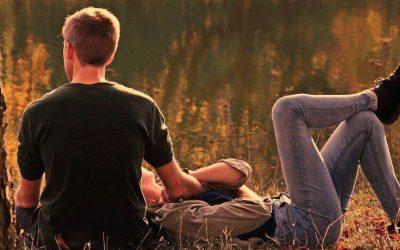 Romantische Dates zu Hause