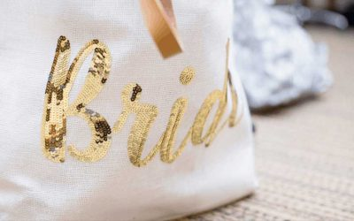 Prall gefüllte Braut-Notfall-Tasche