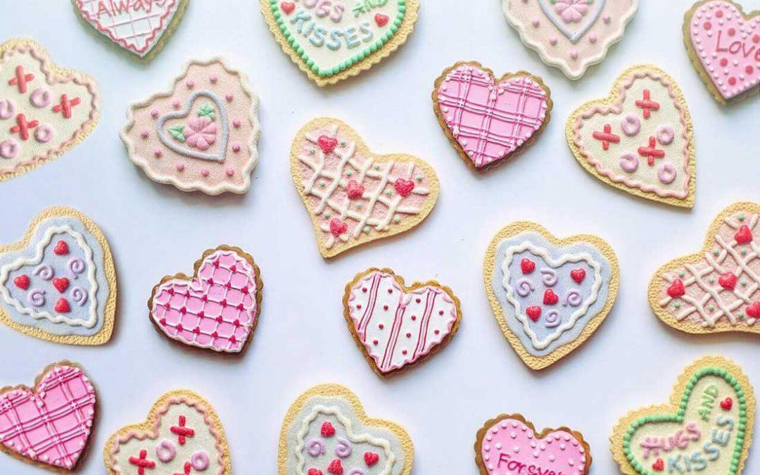 Kekse als Gastgeschenk